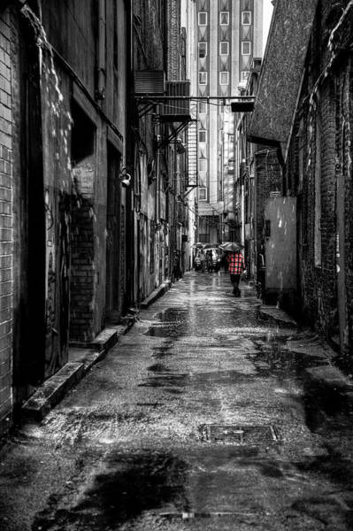 Wall Art - Photograph - Market Square Alleyway - Knoxville Tennessee by David Patterson