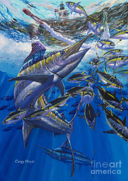 Wall Art - Painting - Marlin El Morro by Carey Chen