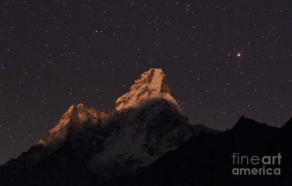 Wall Art - Photograph - Mars Over Himalayas by Babak Tafreshi