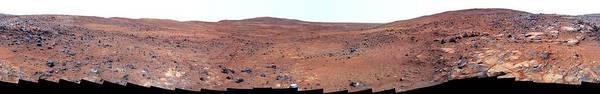 Wall Art - Photograph - Martian Landscape by Jpl-caltech/cornell/nasa/science Photo Library