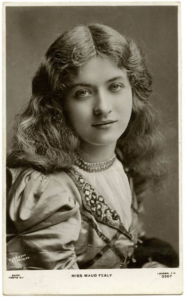 Wall Art - Photograph - Maud Fealy (1883 - 1971), Film Actress by Mary Evans Picture Library