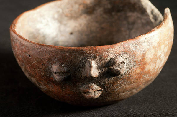 Wall Art - Photograph - Mayan Bowl by Marco Ansaloni / Science Photo Library
