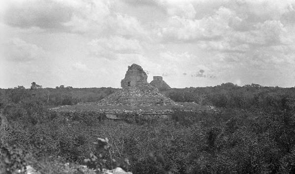 Mesoamerican Photograph - Mayan Temple Ruins by American Philosophical Society