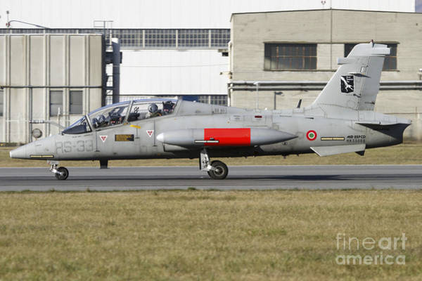 Aermacchi Photograph - Mb-339cd Of The Italian Air Force by Luca Nicolotti