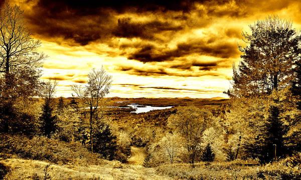 Photograph - Mccauley Mountain Ski Slope by David Patterson