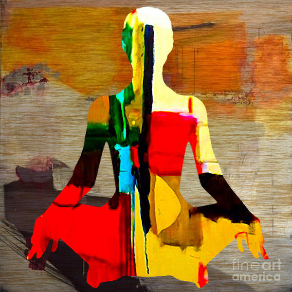Wall Art - Mixed Media - Meditation by Marvin Blaine