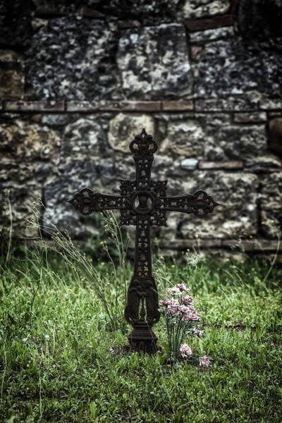Grave Yard Photograph - Memories by Joana Kruse