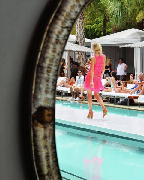 Photograph - Mercedes-benz Fashion Week Swim 2014 - by Andrew H. Walker