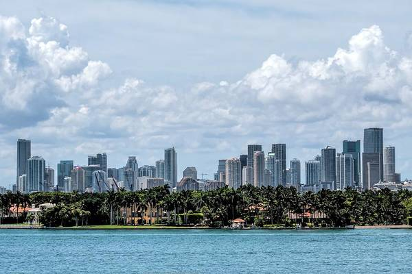 Photograph - Miami Skyline by Rudy Umans