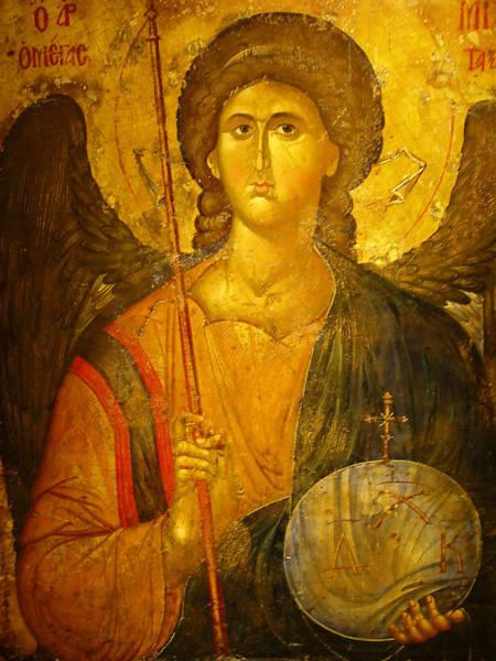 Guardian-angel Photograph - Michael The Archangel by Ellen Henneke
