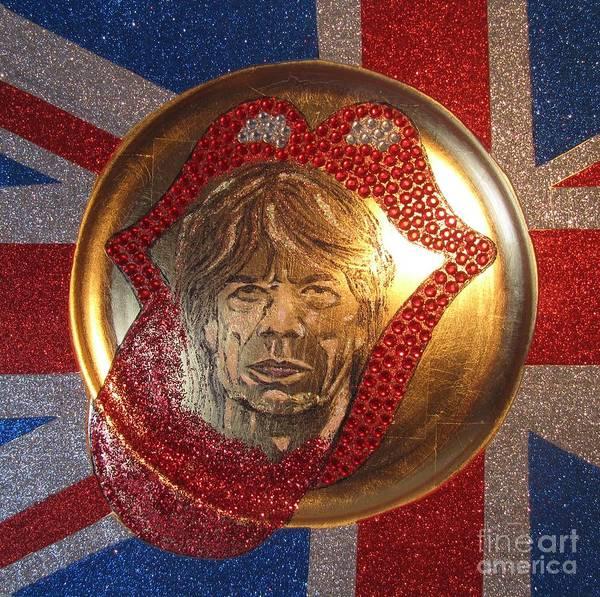 Wall Art - Mixed Media - Mick Jagger by Jeepee Aero
