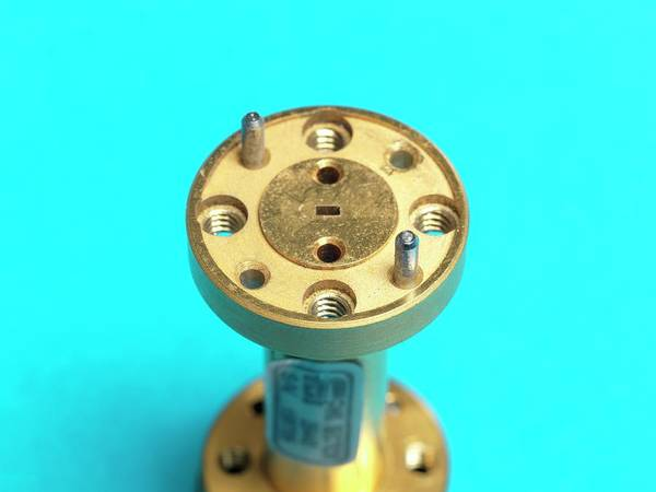 Apparatus Wall Art - Photograph - Millimetre Radio Waveguide by Andrew Brookes, National Physical Laboratory