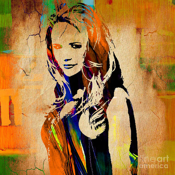 Miranda Lambert Wall Art - Mixed Media - Miranda Lambert Collection by Marvin Blaine