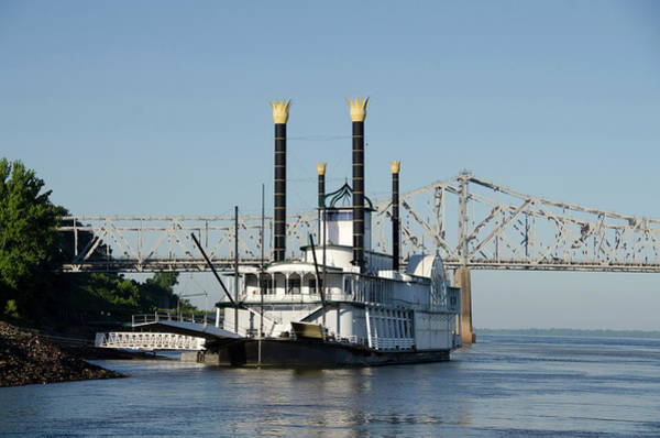 Paddle Boats Photograph - Mississippi, Natchez by Cindy Miller Hopkins