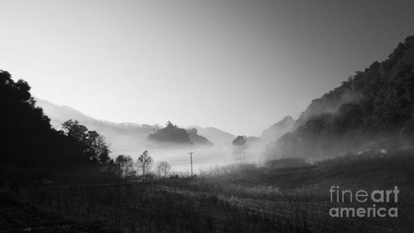 Wall Art - Photograph - Mist In The Valley by Setsiri Silapasuwanchai