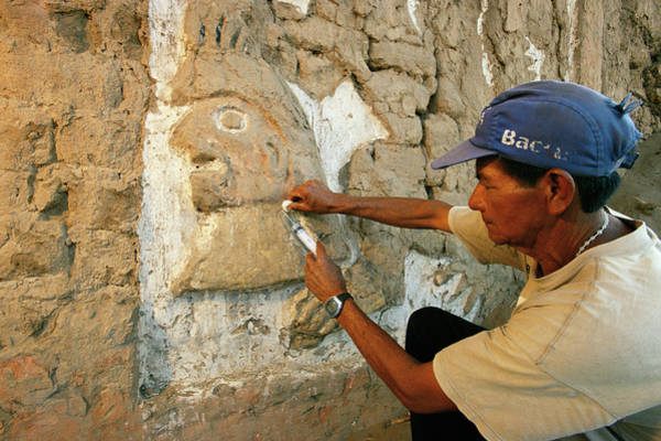 Wall Art - Photograph - Moche Archaeological Site by Pasquale Sorrentino/science Photo Library