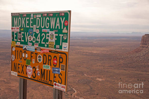 Photograph - Moki Dugway by Fred Stearns