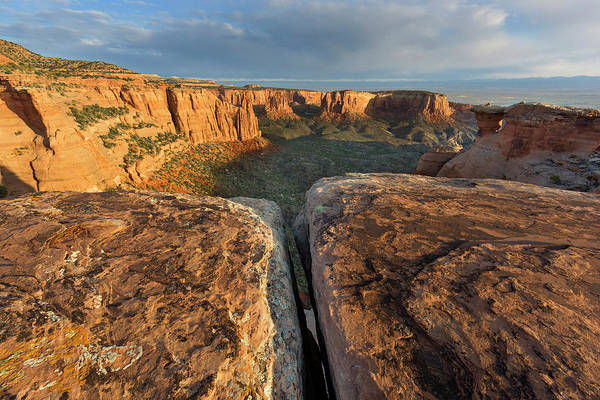 Fruita Photograph - Monuments At Sunrise In The Colorado by Chuck Haney