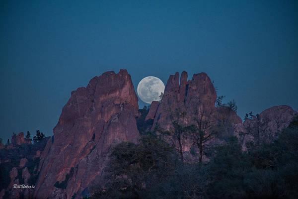 Wall Art - Photograph - Moon Rise Pinnacles by Bill Roberts