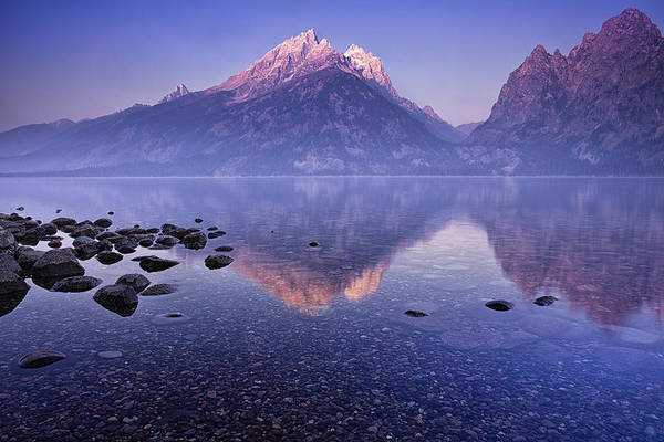 Peacefulness Photograph - Morning Reflection by Andrew Soundarajan