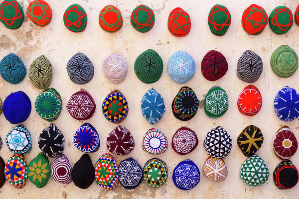 Knit Hat Photograph - Morocco, Essaouira by Emily Wilson