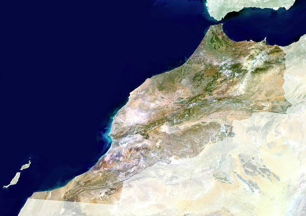 Sahara Photograph - Morocco by Planetobserver/science Photo Library