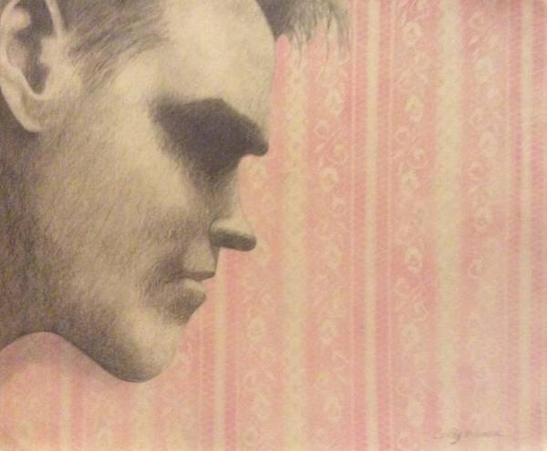 Wallpaper Mixed Media - Morrissey by Cynthia Hilliard