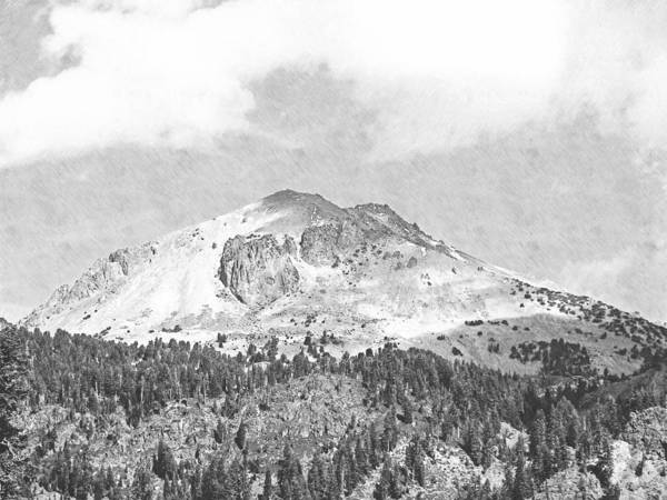 Photograph - Mount Lassen by Frank Wilson