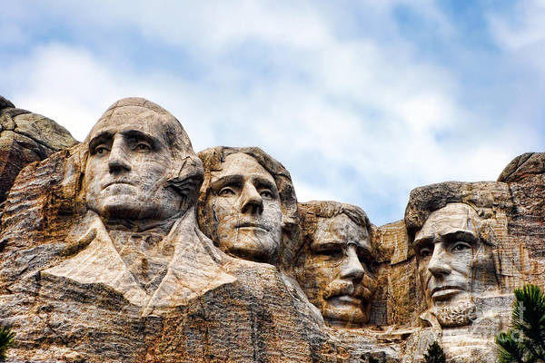Dakota Photograph - Mount Rushmore Monument by Olivier Le Queinec