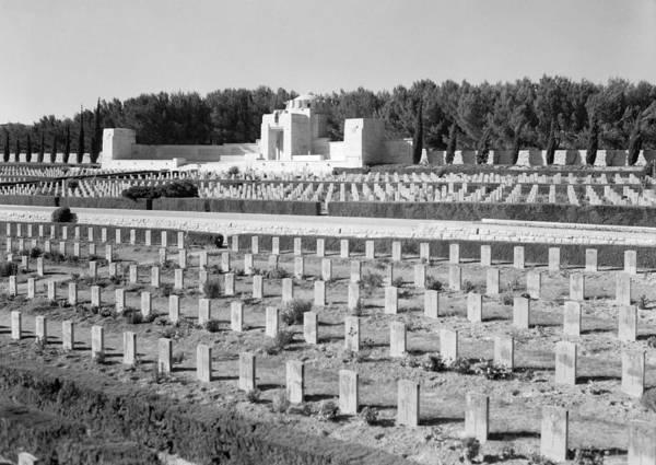 Wall Art - Photograph - Mount Scopus Cemetery by Granger