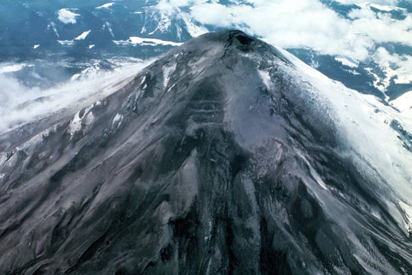 Active Volcano Photograph - Mount St Helens by Us Geological Survey/science Photo Library
