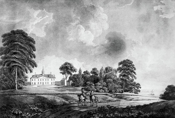 Painting - Mount Vernon, 1798 by Granger