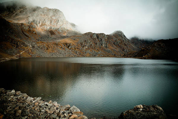 Wall Art - Photograph - Mountain Lake Gosaikunda Himalayas by Raimond Klavins