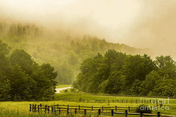 Highland Scenic Highway Wall Art - Photograph - Mountain Mist by Thomas R Fletcher