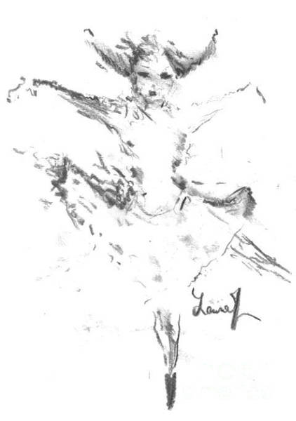 Drawing - Movement Of Dance by Laurie Lundquist
