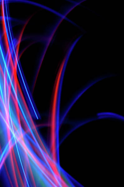 Wall Art - Photograph - Moving Lights by Lawrence Lawry
