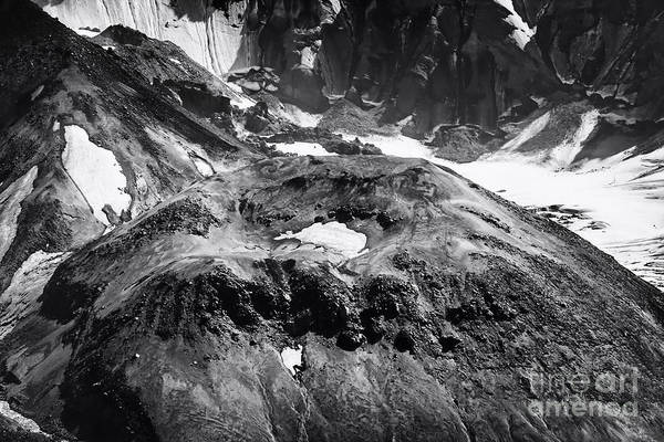 Photograph - Mt St. Helen's Crater by David Millenheft