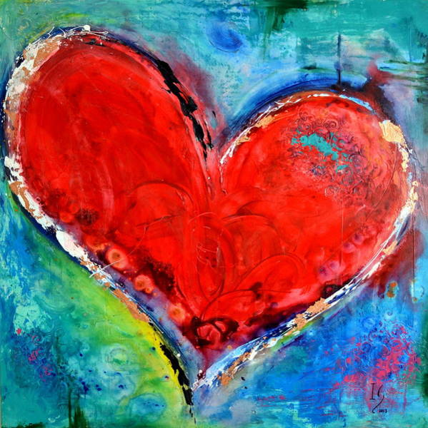 True Love Wall Art - Painting - Music Of The Heart by Ivan Guaderrama