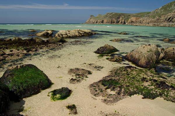 Photograph - Nanjizal Beach In Cornwall by Pete Hemington