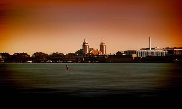 Photograph - Navy Pier In Color by Milena Ilieva
