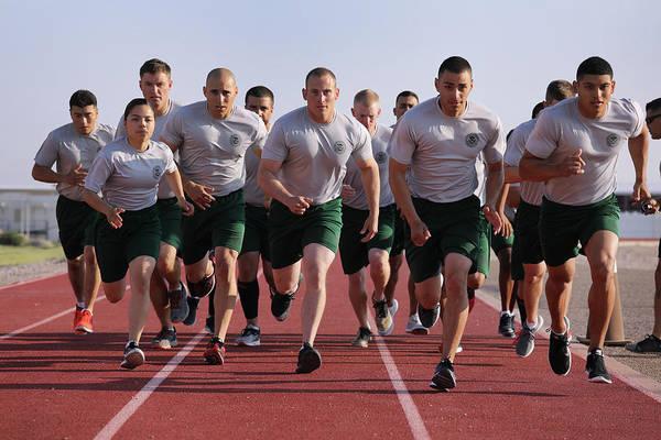 Photograph - New Agents Train At Us Border Patrol by John Moore
