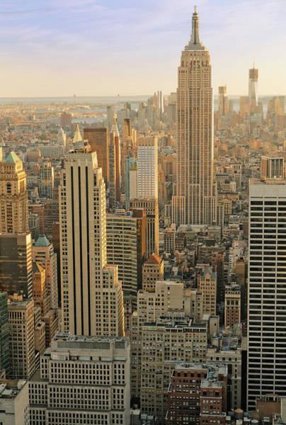 Looking Down Photograph - New York City Xxxl by Bezov