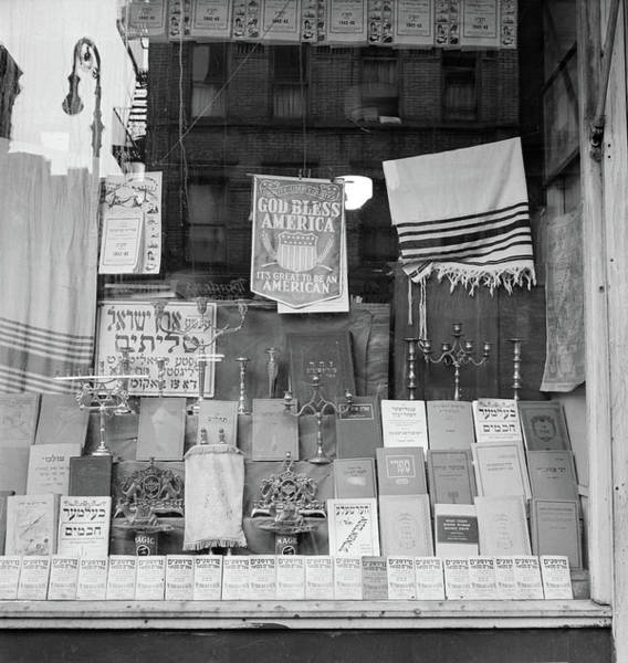 Broome Photograph - New York Storefront, 1942 by Granger