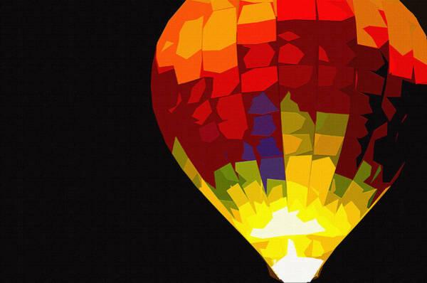 Wicker Basket Digital Art - Night Light by Brian Stevens