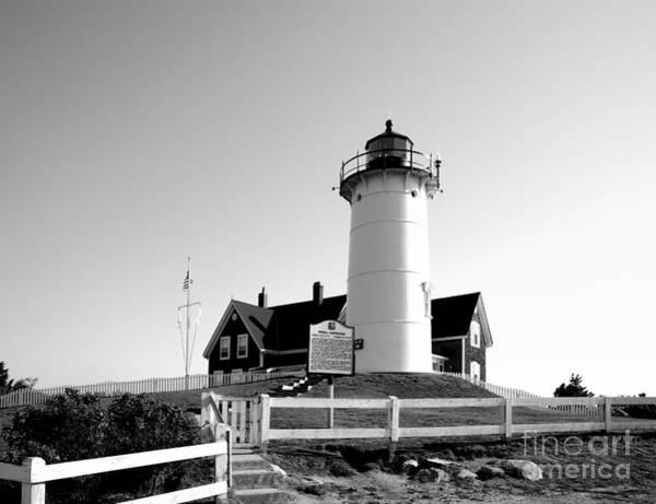 Photograph - Nobska Lighthouse On Cape Cod by William Kuta