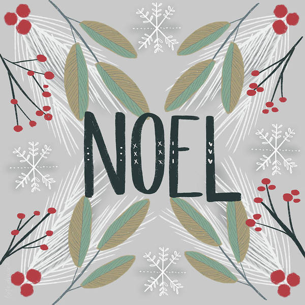 Wall Art - Painting - Noel by Katie Doucette