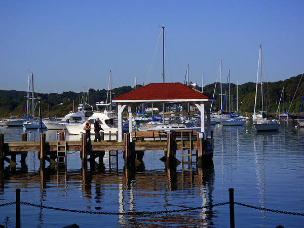Photograph - Northport Dock by Susan Jensen