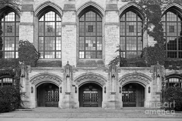 Photograph - Northwestern University Deering Library by University Icons