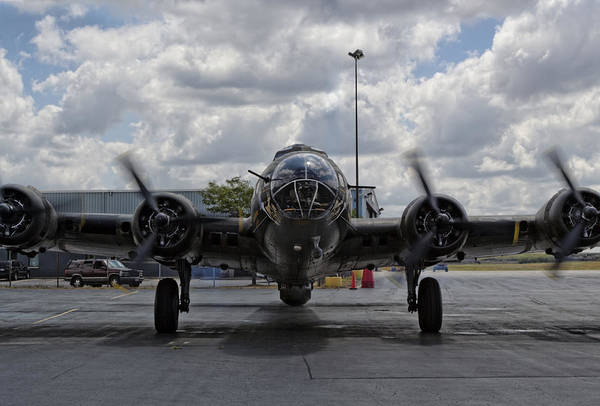 Bomber Photograph - Nose To Nose by Peter Chilelli