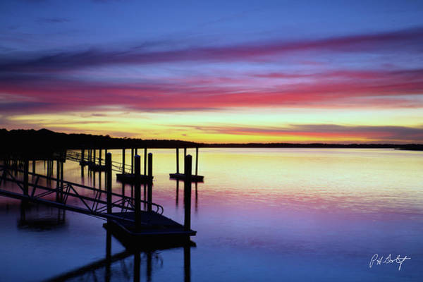 Lowcountry Digital Art - November Evening by Phill Doherty